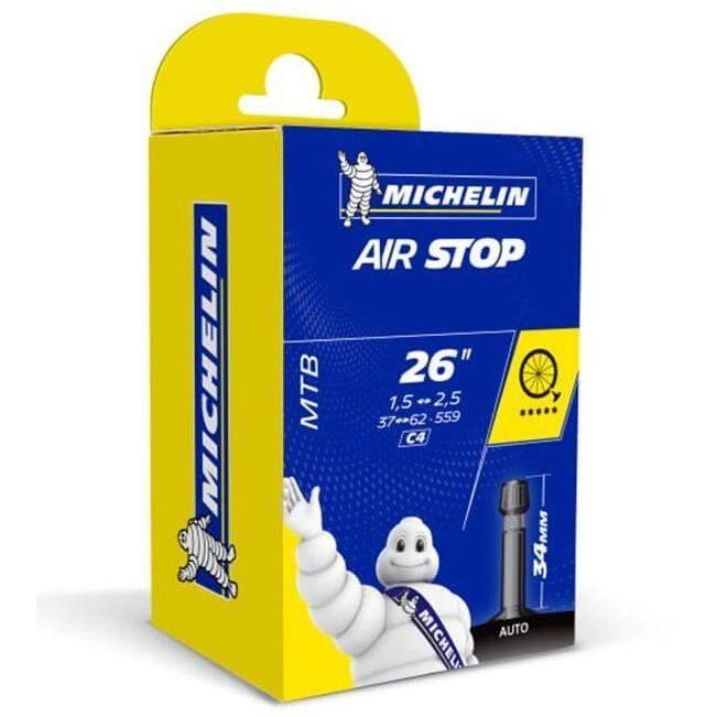 Chambre à air Michelin Airstop Butyl (C4) - 26x1,60/2,10 37/62-559 Schrader 35 mm