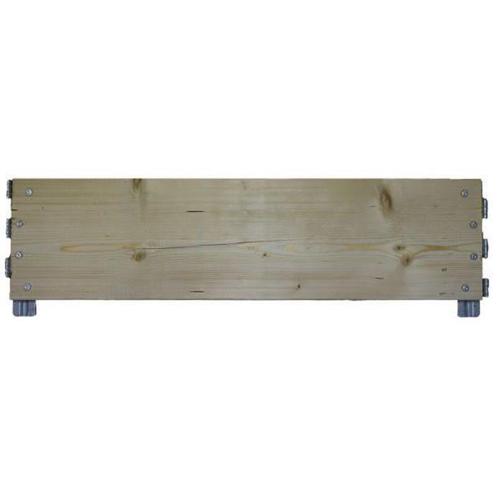 Planche réhausse palette longueur 80 cm