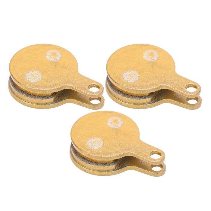 3 paires de plaquettes d'huile à disque métallique, plaquettes de frein à disque de vélo pour vélo électrique de route VTT