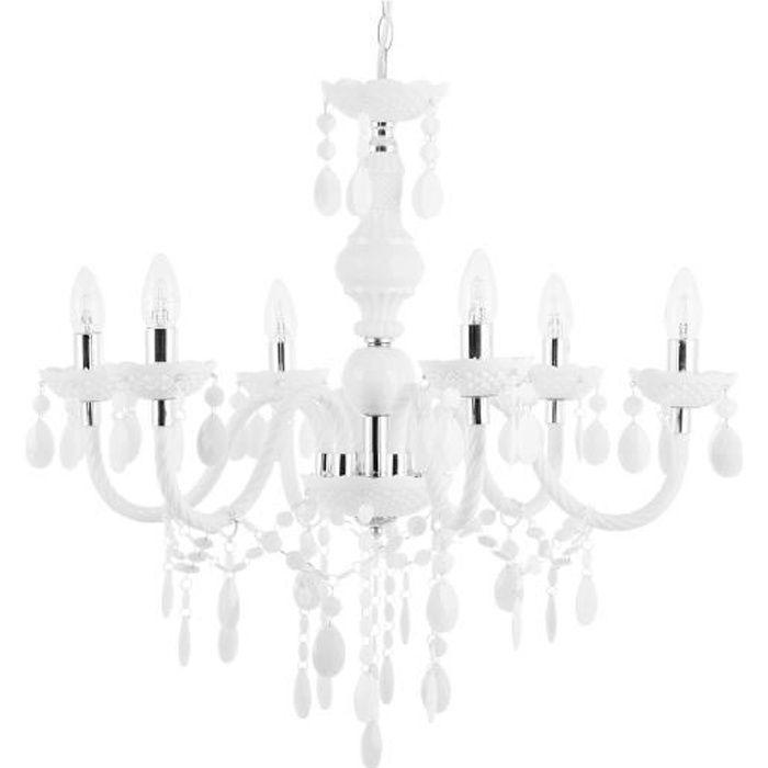 Grand lustre blanc Kalang L