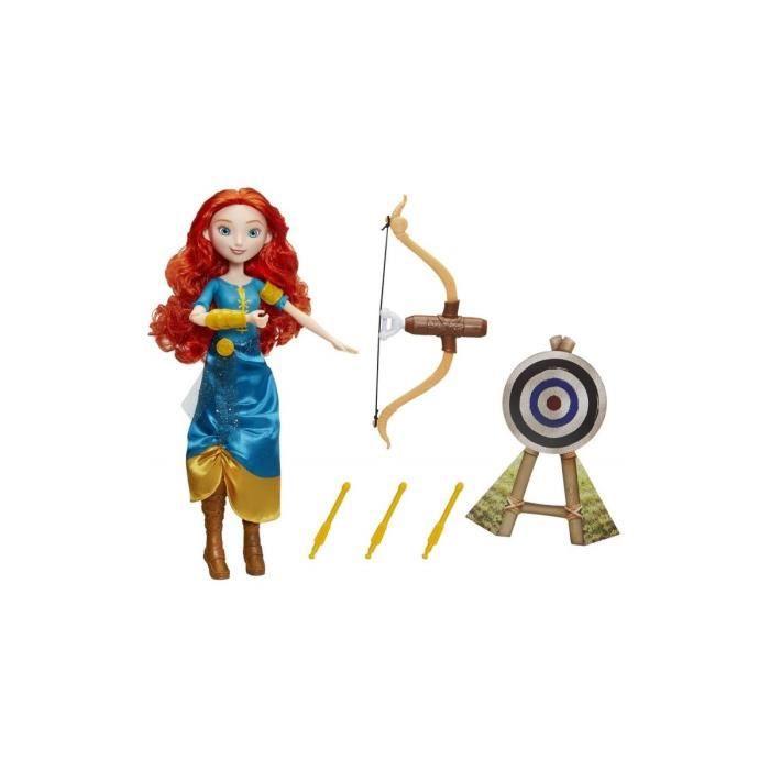 Merida Archere Aventuriere - Poupee mannequin - Disney Princesse - Nouveaute