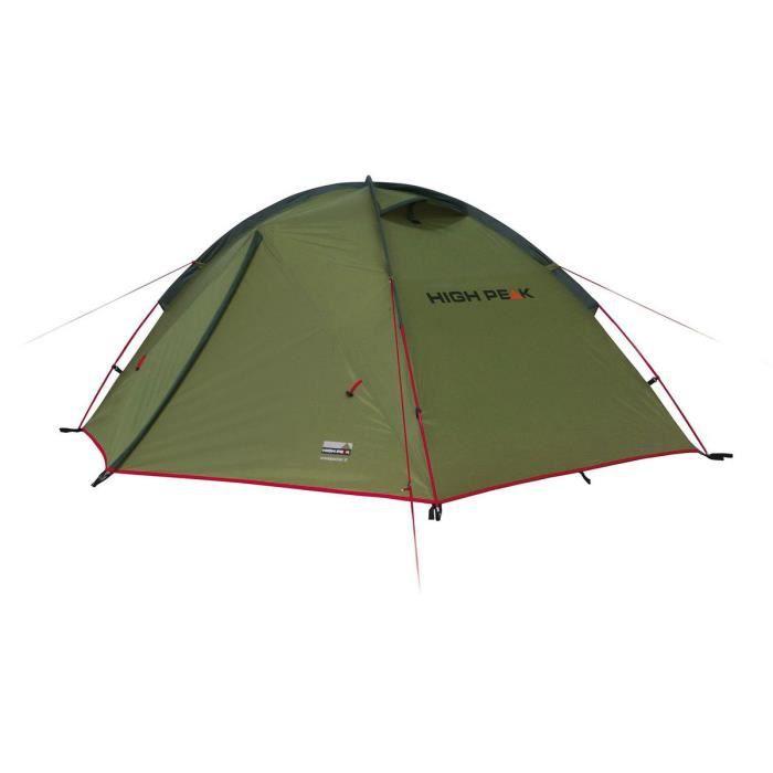High Peak Tente Woodpecker 3 Femme oliv/rot