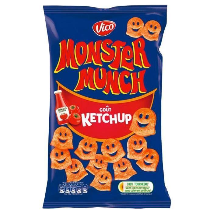 Monster Munch - Monster Munch Ketchup 85g (lot de 6)