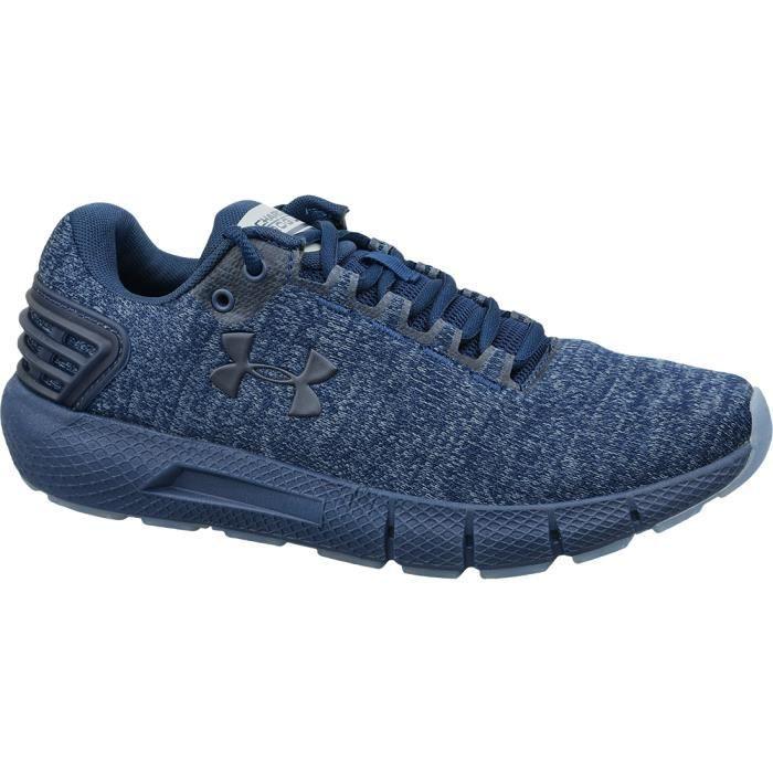 Under Armour Charged Rogue Twist Ice 3022674-400 chaussures de running pour homme Bleu foncé