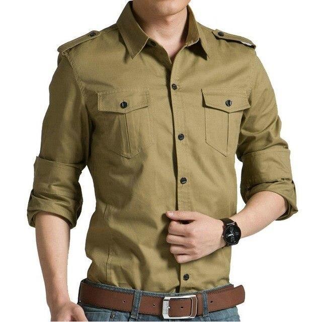 Zencart Printemps Automne Coton Chemises Pour Hommes Décontracté Coupe Ajustée à Manches Longues Chemises Pour Hommes (jdym)