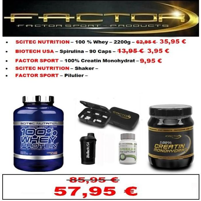 Whey Scitec Pack 2,2 kg Choco