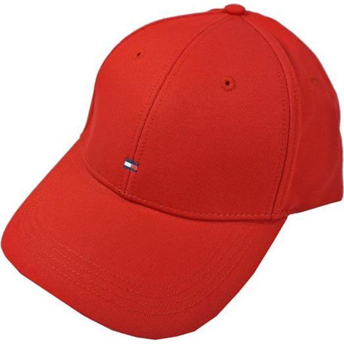 Tommy Hilfiger - Tommy Hilfiger E367895041-611 Casquette de baseball CLASSIC BB Cap Rouge Cap Réf 58968