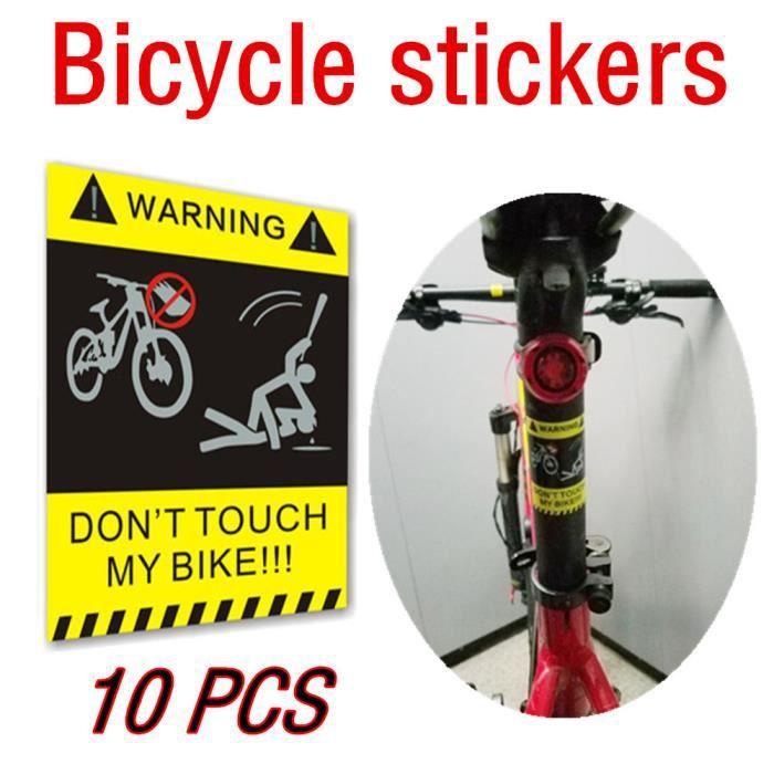 """4/"""" Rond Original Standard BMX Vélo Autocollant noir//rouge"""