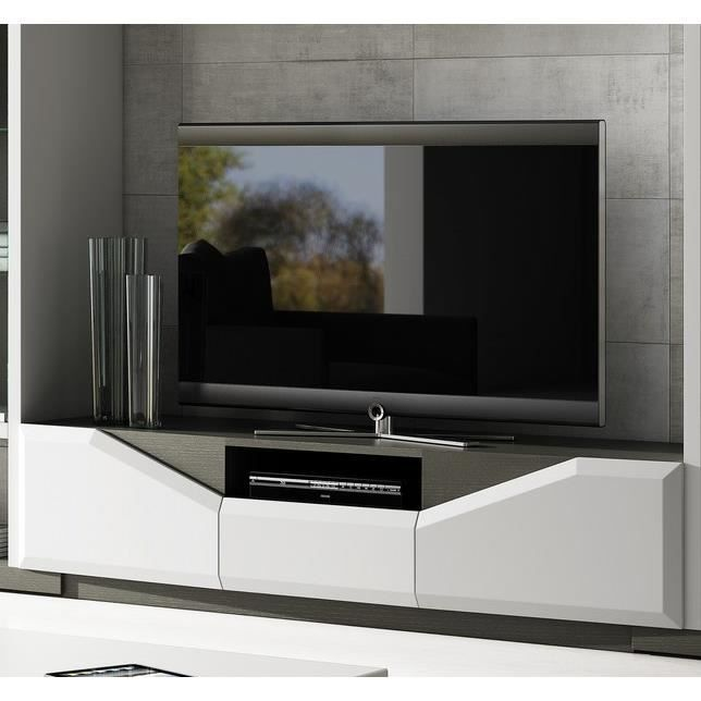 meuble t l moderne 39 maid 39 achat vente meuble tv. Black Bedroom Furniture Sets. Home Design Ideas