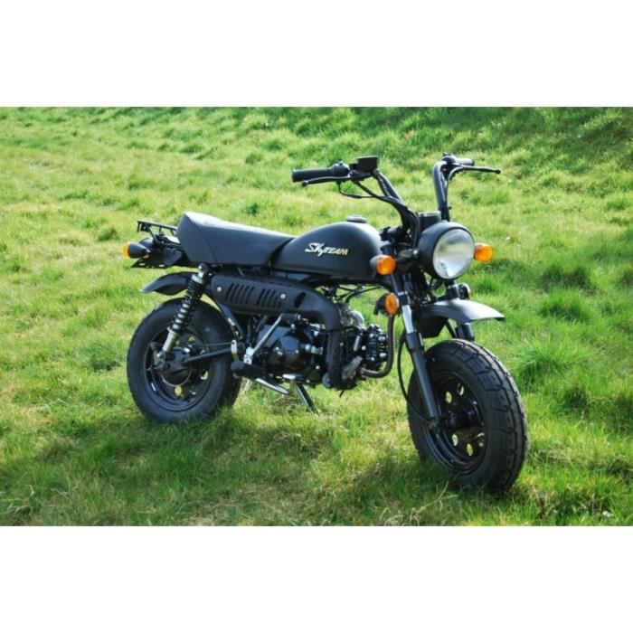 skymini monkey 50cc noir sans montage et mise en route achat vente moto skymini monkey. Black Bedroom Furniture Sets. Home Design Ideas