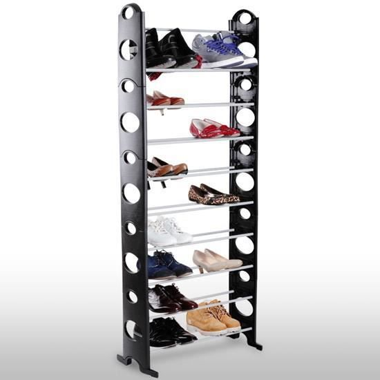 etagere chaussure cdiscount. Black Bedroom Furniture Sets. Home Design Ideas