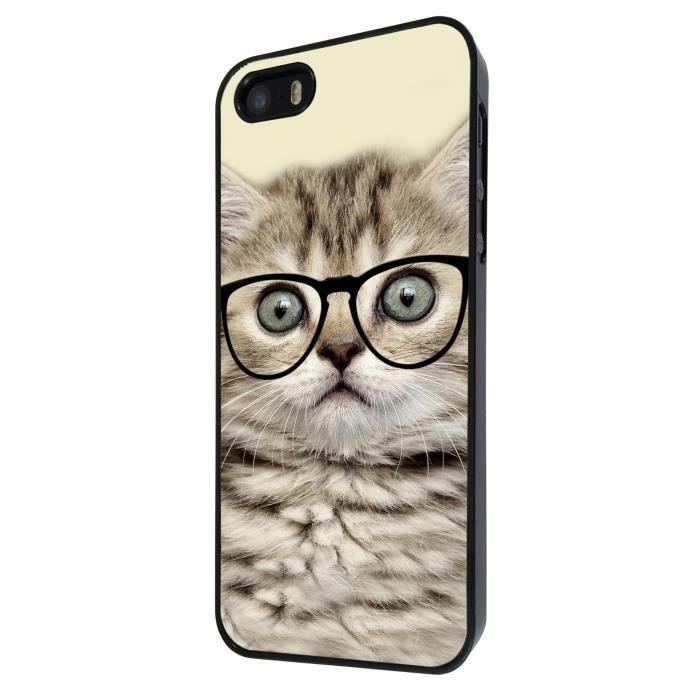 Cool geek kitten cat reading sunglasses funny iphone 4 4s - Espionner portable sans y avoir acces ...