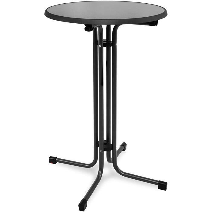 MANGE-DEBOUT BEAUTISSU table haute pliante outdoor Ø 80 cm Sylt