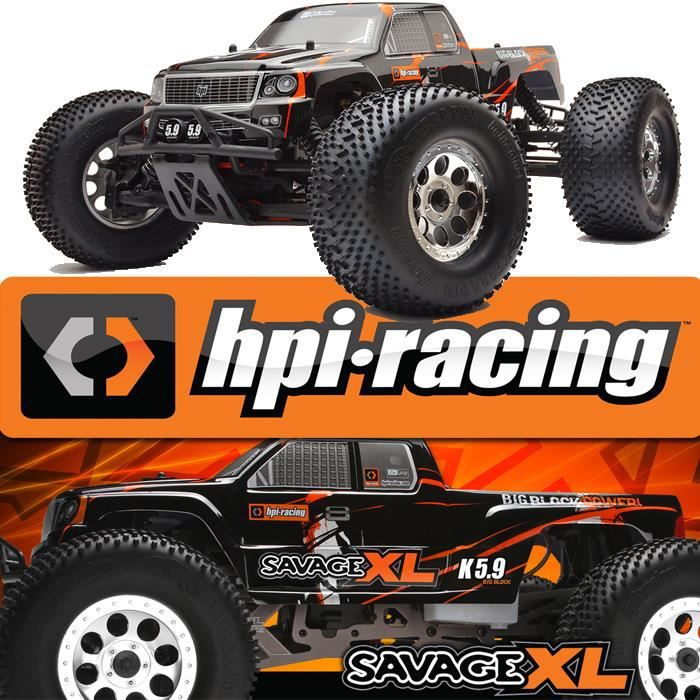 monster truck rc savage xl 5 9 voiture thermique. Black Bedroom Furniture Sets. Home Design Ideas