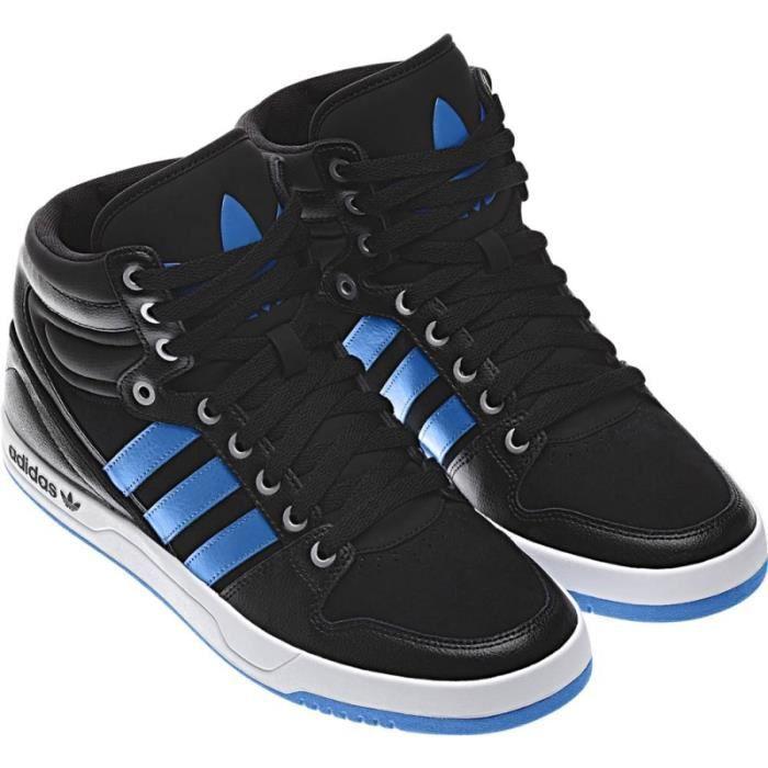 Chaussure adidas montante homme ... Noir Noir/bleu - Cdiscount ...