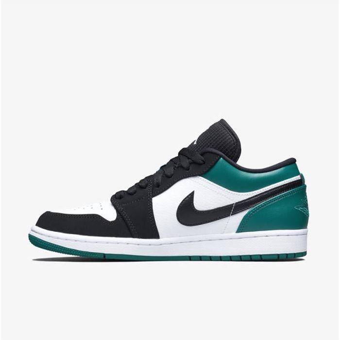 Baskets Air Jordan 1 Low 553558-113 Chaussures de pour Homme Vert ...