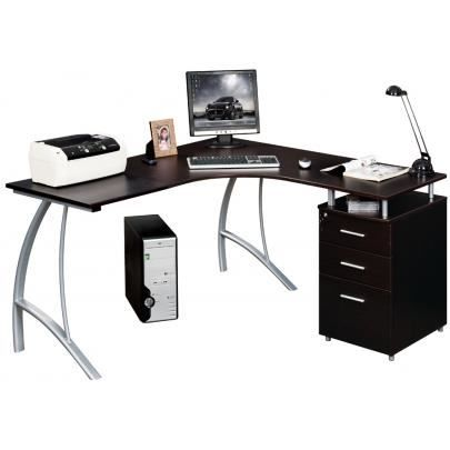 bureau multimedia antinoe noir achat vente bureau bureau multimedia antinoe noir cdiscount. Black Bedroom Furniture Sets. Home Design Ideas