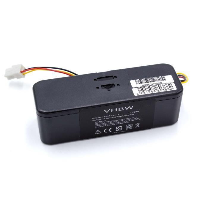 Batterie pour Samsung Navibot SR8895/puissant avec 3500/mAh Hannets