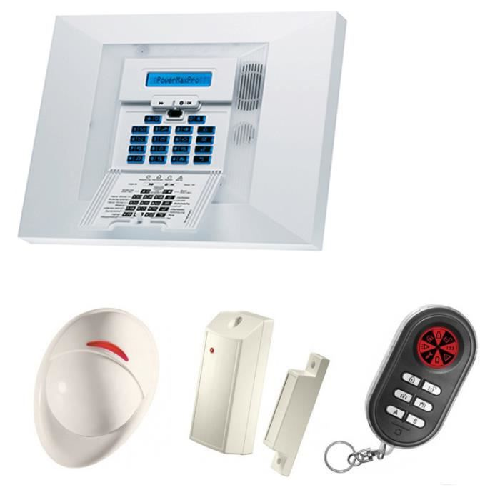 Alarme maison domotique pack alarme maison de 32 zones for Alarme maison securite good deal