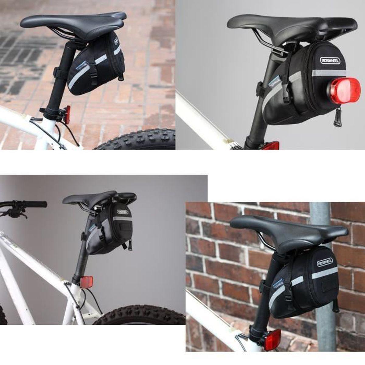 Sac De Selle Antichoc Pour Vélo Bicyclette Pour Le Cyclisme Sacoche Étanche