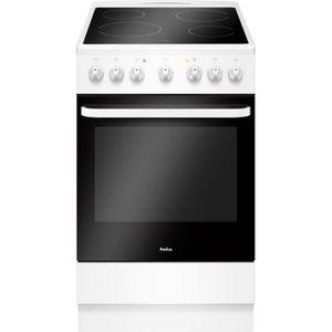 CUISINIÈRE - PIANO Amica - cuisinière vitrocéramique 65l 4 feux blanc