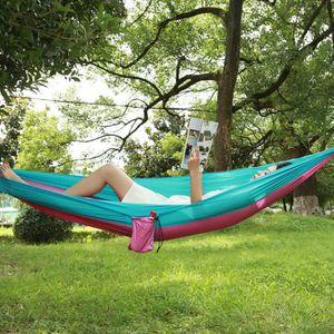 HAMAC PAR Hamac,Portable 2 personne lit suspendu camping
