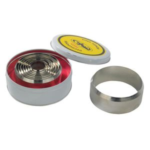 EMPORTE-PIÈCE  Decoupoir a nougat acier nickele diametre 5cm, , A
