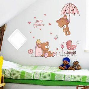 Princesse Lilou Grande Sticker mural avec d/écoration murale de la Couronne Stickers Muraux Choix de Stickers en Vinyle Papier Peint