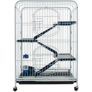 CAGE TYROL Cage tower 64x44x93cm - Pour rongeur