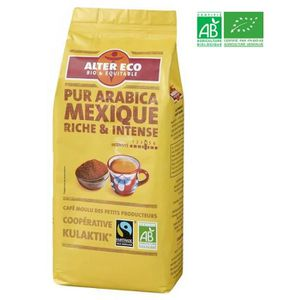 CAFÉ - CHICORÉE ALTER ECO Café mexique 100% arabica Bio 260g