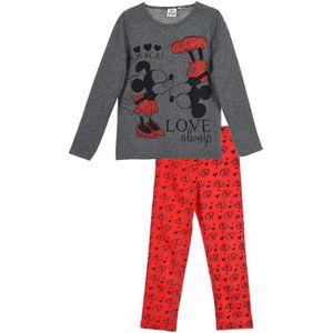 PYJAMA MINNIE Pyjama Pantalon et T-Shirt Gris Anthracite