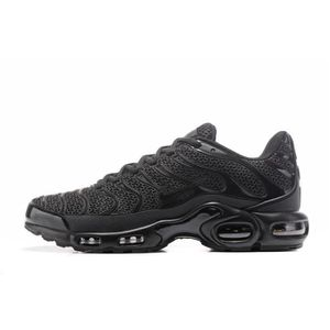 SKATESHOES Nike Air Max Tn Chaussures de course Baskets Noir