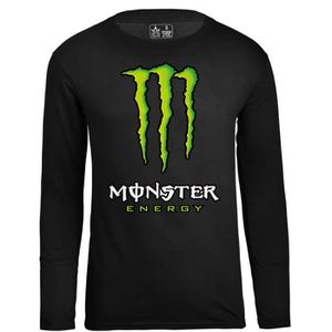 T-SHIRT Monster Energy Logo Tee Shirt Homme Casual Haute Q