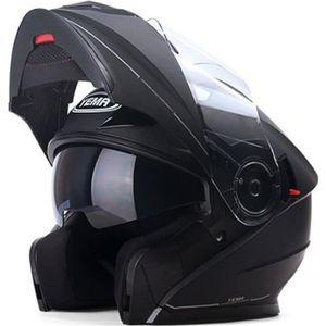CASQUE MOTO SCOOTER Casque Moto Unisexe de Marque luxe Casque moto Cou