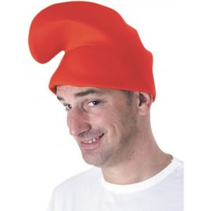 Nain bonnet Schtroumpf rouges pour adulte d/éguisement party