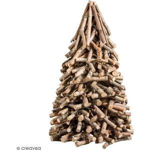 SAPIN - ARBRE DE NOËL Sapin de Noël en bois naturel - 25 x 40 cm