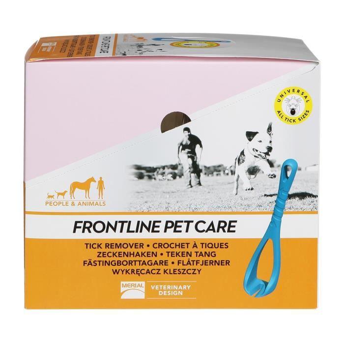 FRONTLINE PET CARE - 12 Crochets à tiques