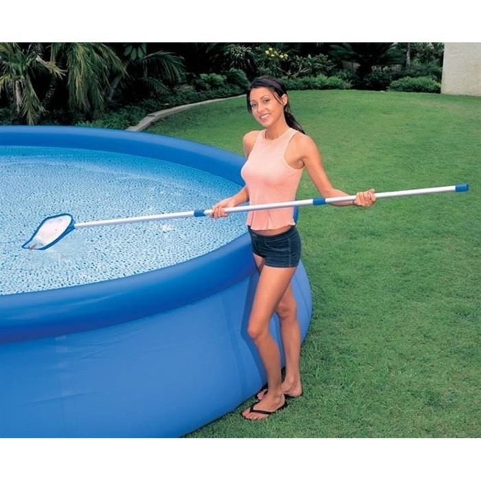 Kit d 39 entretien puisette balai venturi intex achat for Balai aspirateur piscine intex