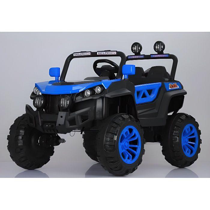 Buggy ATAA Rodeo 4x4 Bleu - Voiture Buggy électrique pour enfant avec batterie et télécommande