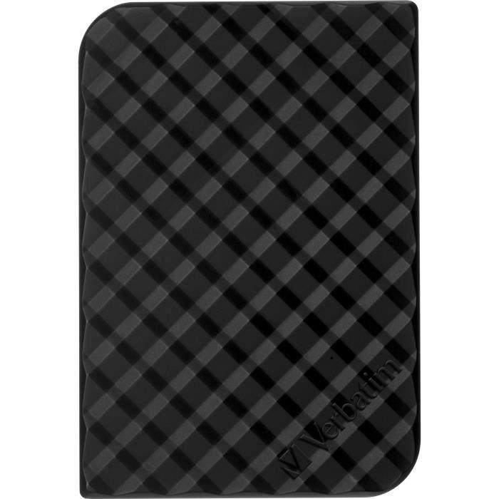 """Verbatim Disque dur Externe Store 'n' Go Portable 1 To 2.5"""" Usb 3.0 noir"""