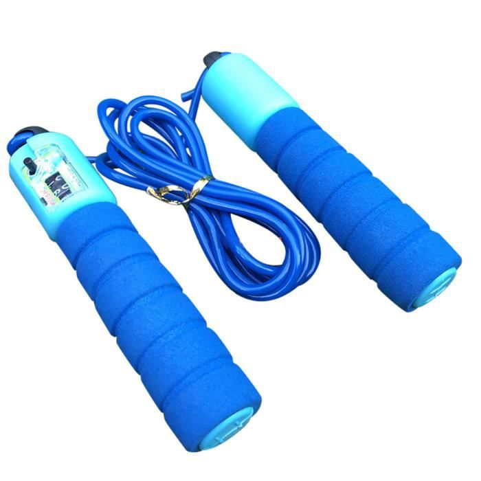Corde à sauter enfants sautant corde à sauter longueur réglable compte automatique ZZF71123618BU PRODUIT D'ENTRETIEN MACHINE FITNESS