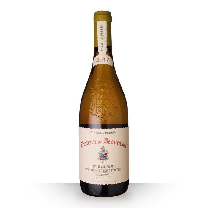 Château de Beaucastel 2017 AOC Châteauneuf-du-pape - 75cl - Vin Blanc