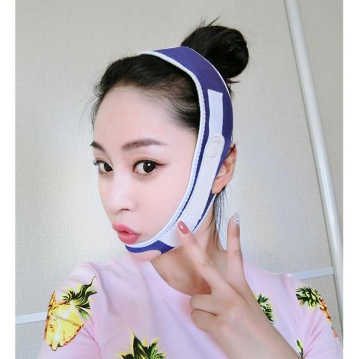Puissant Masque Lifting Artefact V visage Bandage Lifting à la loi Make-up double mâchoire Correction Mordre