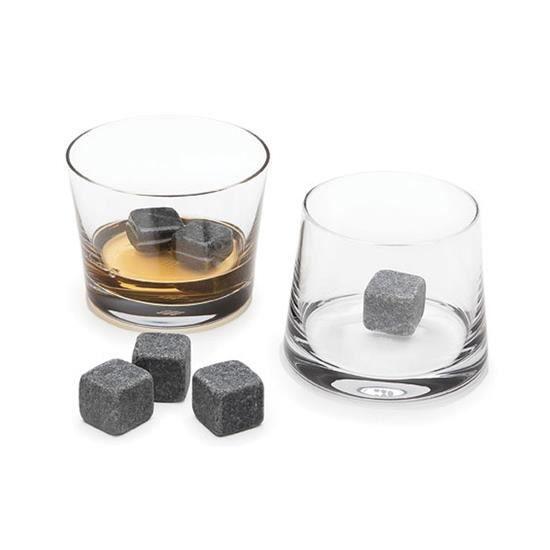 Lot de 8 Pierres à Whisky