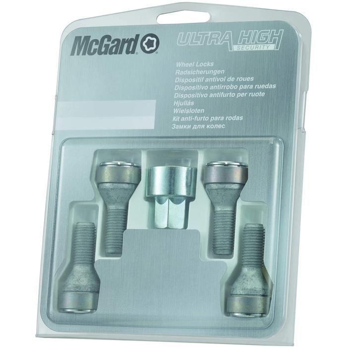 McGard 27216SL Dispositif antivol de roues et de pneus Ultra High Security à assise conique SW17 Filetage M12 x 1,25 Longueur 2 833