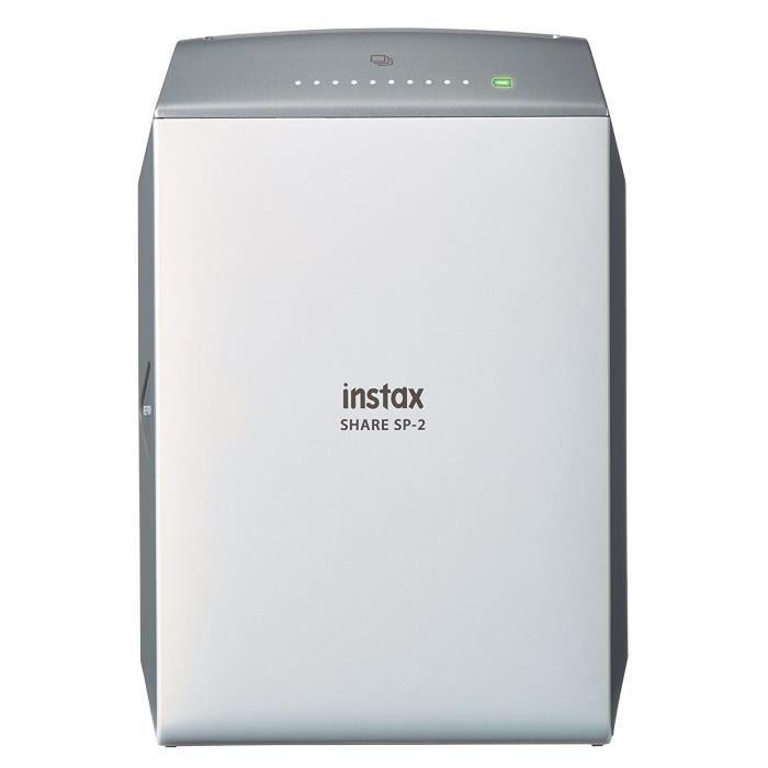 Instax Share SP-2 Imprimante instantanée pour Smartphone et Appareil Photo, Argent