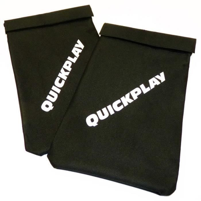 Sac de sable Quickplay (x2) - noir - TU