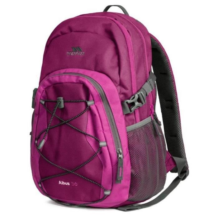 TRESPASS Sac à dos Albus - 30 L - Rose