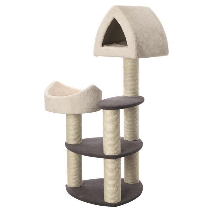 TRIXIE Griffoir pour chat Marcy Soft 130 cm Gris