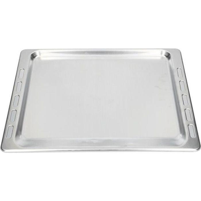 Plaque lèche frite Whirlpool - Plaque à gâteau pour four en aluminium 445x375x11 mm 481241838127
